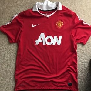Manchester United Nike Dri-Fit Jersey